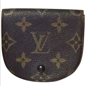Louis Vuitton vintage monogram coin change purse